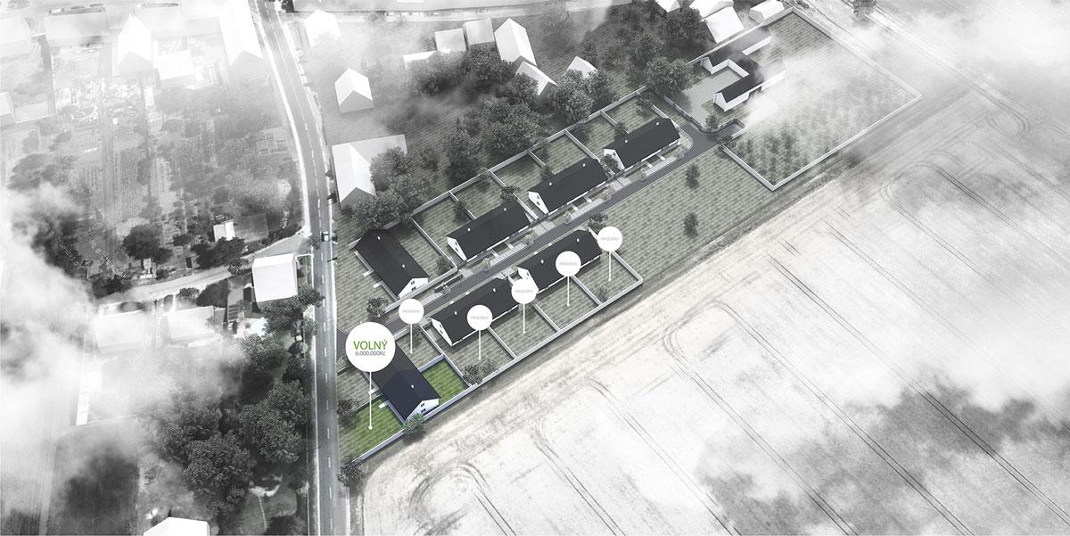 Ratajské zahrady - na prodej